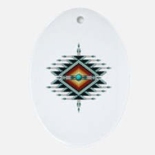 Cute Southwest Oval Ornament