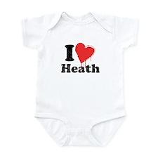 I heart heath Infant Bodysuit