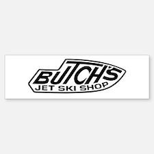 2-Butchs 3 trans black Bumper Bumper Bumper Sticker