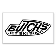 2-Butchs 3 trans black Decal