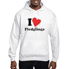 i heart fledglings Jumper Hoody