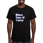 B.B.C Men's Fitted T-Shirt (dark)