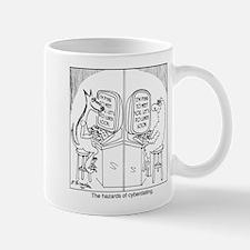 The hazards of cyberdating Mug