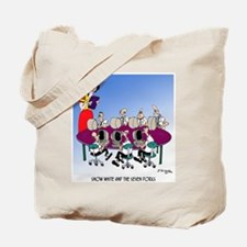 Snow White and the 7 Dorks Tote Bag