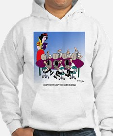 Snow White and the 7 Dorks Hoodie