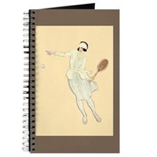 1920's Tennis Girl - Journal, Notepad or Notebook