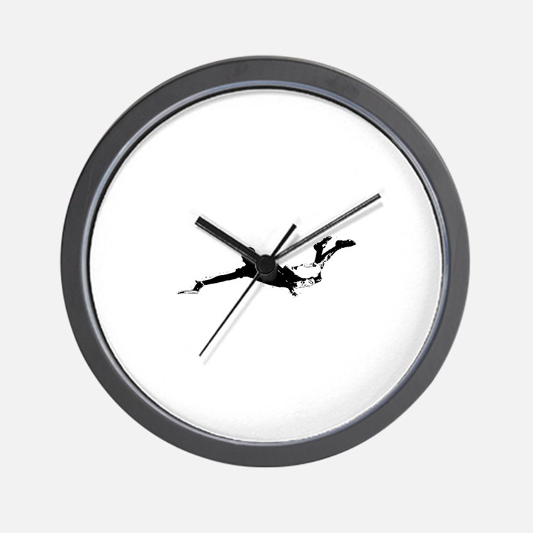 Layout Bid Wall Clock