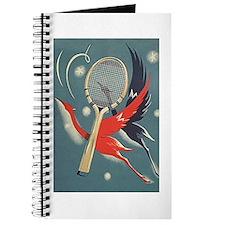 ArtNouveau Tennis - Journal, Notepad or Notebook