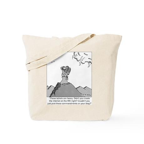 God's Blog Tote Bag