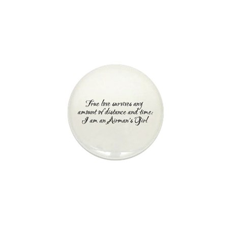 True Love Survives Mini Button