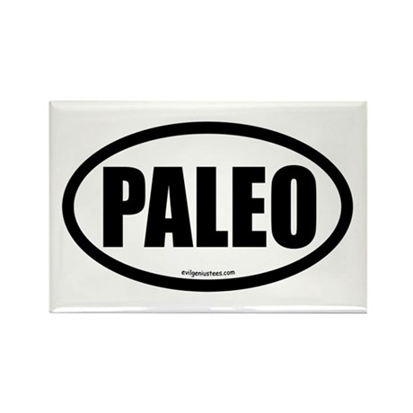 Paleo auto decal Rectangle Magnet (10 pack)