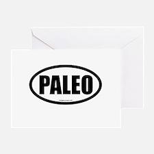 Paleo auto decal Greeting Card