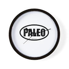 Paleo auto decal Wall Clock