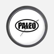 Paleo auto decal Wall Clock