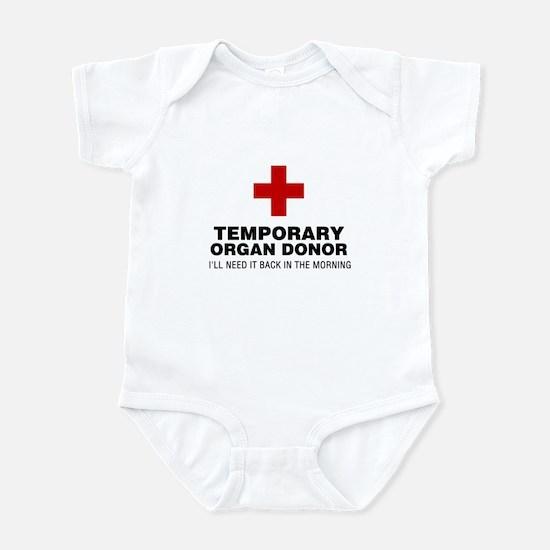 Temporary Organ Donor Infant Bodysuit
