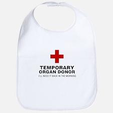 Temporary Organ Donor Bib