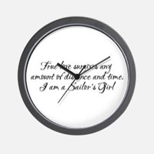 True Love Survives Wall Clock