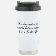 True Love Survives Stainless Steel Travel Mug