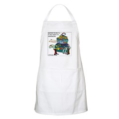 Built exactly to specifications Apron