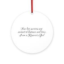 True Love Survives Ornament (Round)