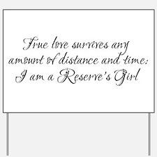 True Love Survives Yard Sign