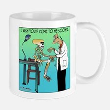 I wish you'd come to me sooner Mug