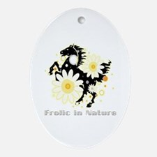 Frolic in Nature Oval Ornament