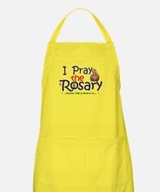 Pray the Rosary - BBQ Chef Apron yard sign logo