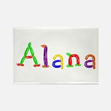 Alana Balloons Rectangle Magnet