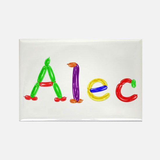 Alec Balloons Rectangle Magnet