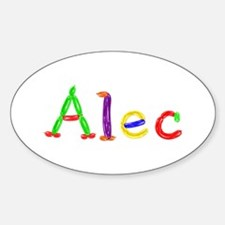 Alec Balloons Oval Decal