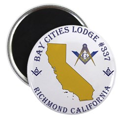 Bay Cities Lodge Magnet
