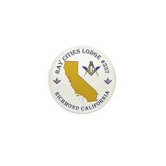 Bay Cities Lodge Mini Button (10 pack)
