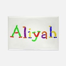 Aliyah Balloons Rectangle Magnet
