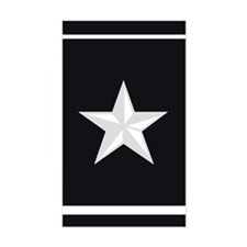 Brigadier General Decal