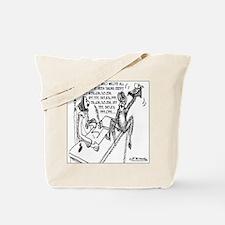 Shakespeare's Monkey Tote Bag