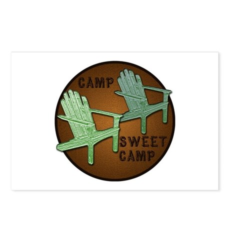 Camp Sweet Camp - Postcards (Package of 8)