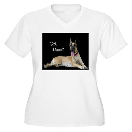Dane Women's Plus Size V-Neck T-Shirt