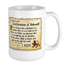 The Declaration of Arbroath Mug