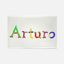 Arturo Balloons Rectangle Magnet
