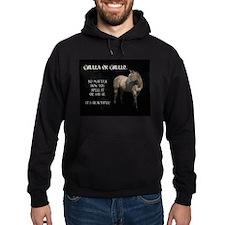 Grulla/Grullo Horse Hoodie