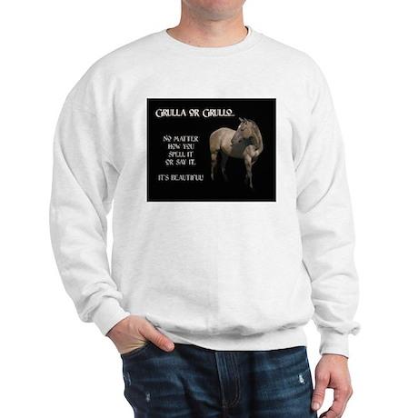 Grulla/Grullo Horse Sweatshirt