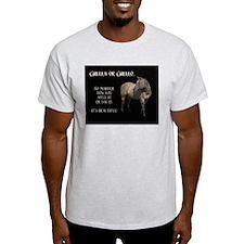 Grulla/Grullo Horse T-Shirt
