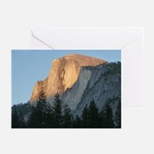 Yosemite_Half_Dome Greeting Cards