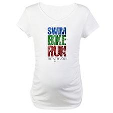 Swim, Bike, Run - Triathlon Shirt