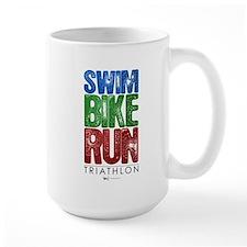 Swim, Bike, Run - Triathlon Mug