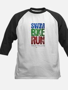 Swim, Bike, Run - Triathlon Tee