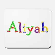 Aliyah Balloons Mousepad