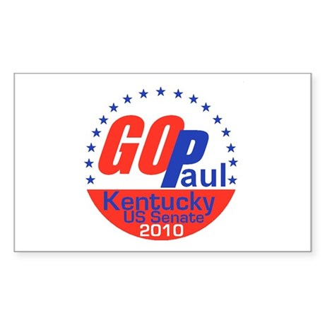 Paul GOP Sticker (Rectangle)