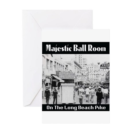 Majestic Ball Room Greeting Card